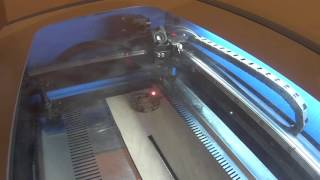 50W Chinese Laser - Cutting Merry Christmas 2015
