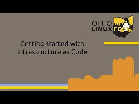 [OLF 2019] Getting started with Infrastructure as Code
