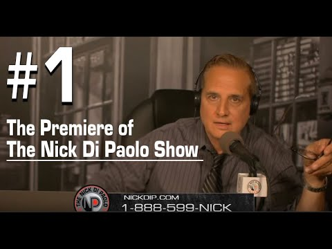 The Premiere of The Nick DiPaolo Show!
