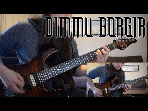 Dimmu Borgir - Blessings Upon The Throne Of Tyranny Cover (Guitar)