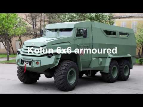 Kolun 6x6 armoured vehicle personnel carrier UAMZ Group Russia Russian Defense industry military equ
