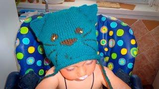 Как связать детскую шапочку спицами(Как связать детскую шапочку спицами http://bringingsuccess.ru/vyazanie.php В этом видео уроке мы свяжем детскую шапку (шапоч..., 2015-08-05T11:28:48.000Z)