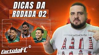 TIME ATUALIZADO PARA A RODADA 2 DO CARTOLA FC 2021 // DICAS E ANÁLISES