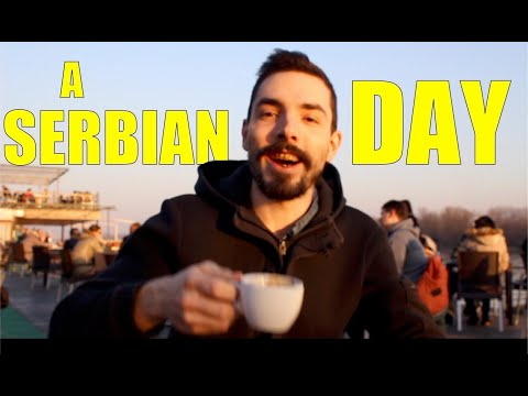 🇷🇸🇫🇷 A French guy tries to live one day like a Serb...