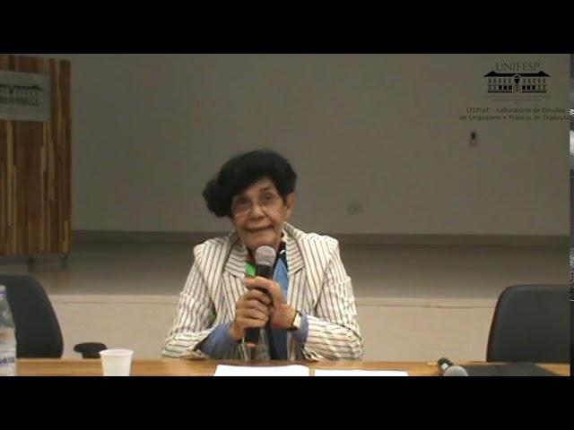 """Conferência Prof. Marilena Chauí: """"Espinosa e a criação do método crítico de leitura"""""""