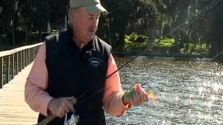 how to rig and use a popping cork bob mcnally