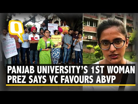Panjab University's 1st Woman President Says VC is Partial to ABVP I The Quint