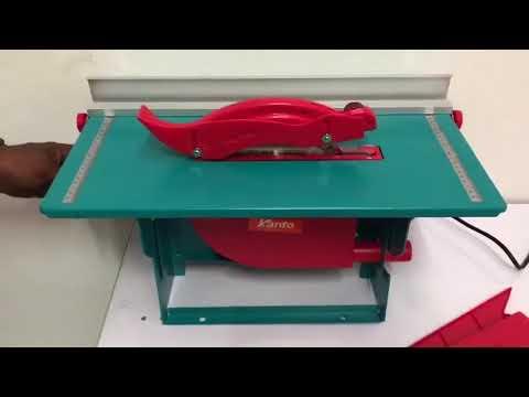 Kanto โต๊ะเลื่อยวงเดือน พร้อมเครื่องและใบตัด8นิ้ว รุ่น KT-2708