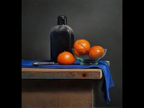 Traditional Dutch Still life time lapse movie