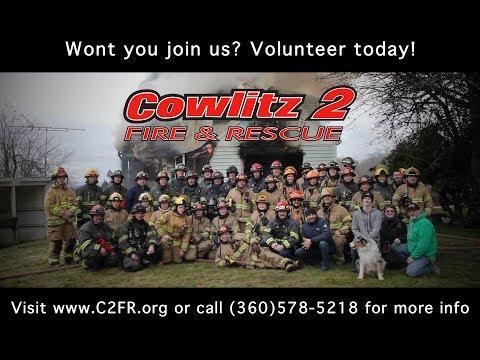 C2FR Volunteer Firefighter Recruitment - Cowlitz 2 Fire & Rescue