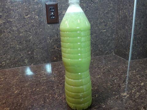 Bebida para quemar la grasa del estómago en pocos días