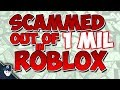 watch he video of HOW I GOT SCAMMED OVER 1 MIL IN VALUE (Roblox Scammers and Hackers)