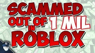 HOW I GOT SCAMMED OVER 1 MIL IN VALUE (Roblox Scammers and Hackers)