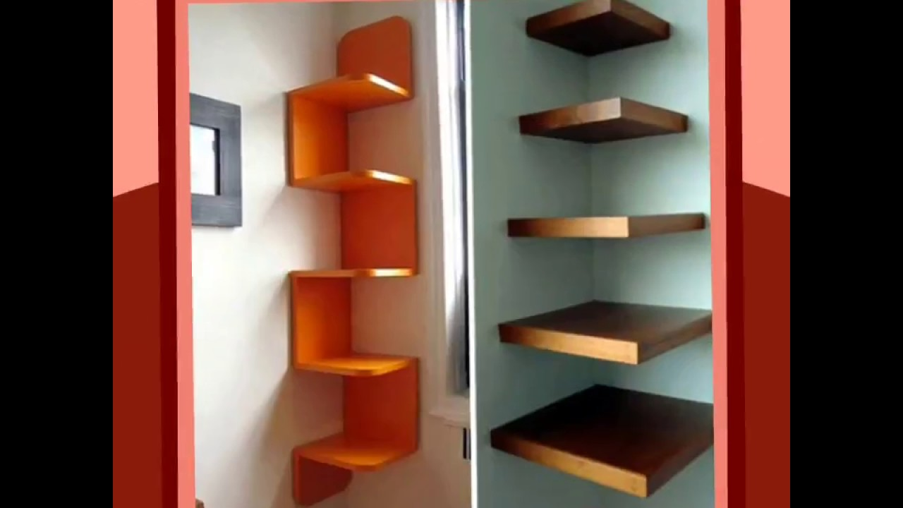 Repisas flotantes para decorar floating shelves to - Como decorar paredes ...
