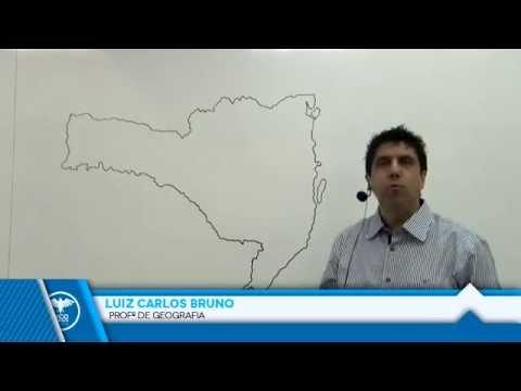 Geografia de Santa Catarina: Localização Geográfica