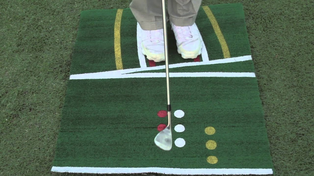 Perfect Pitch Golf Mat Training Video Youtube