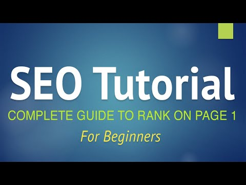 SEO Tutorial for Beginners - Step by Step Guide 2018! (+YOAST SEO)