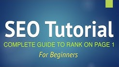 SEO Tutorial for Beginners - Step by Step Guide 2020! (+YOAST SEO)
