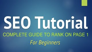SEO Tutorial for Beginners  Step by Step Guide 2021! (+YOAST SEO)