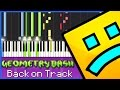 Back On Track Synthesia Piano Cover Tutorial 4 Hands mp3