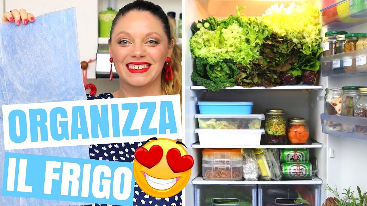 Contenitori Per Organizzare Frigo organizzazione frigo: 10 consigli per organizzare il frigorifero e tenerlo  sempre pulito!