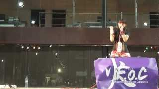 This is my 4th mini live at ExpOtaku Barcelona 2012. Setlist ♪ 01. ...
