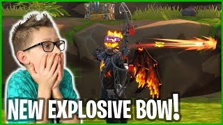 THE NEW EXPLOSIVE BOW IS HERE!!!