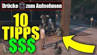 TOP 10 Glitches, Tipps, Lifehacks in GTA 5 | Unlimited Money, Geheime Orte, etc | JanneMann