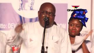 Full Speech of Nana Akufo-Addo at NPP's final 2016 rally