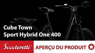 Cube Town Sport Hybrid One 400   Vélo Électrique Canada