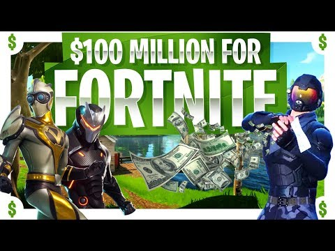 $100 Million for Fortnite Competitive?! - Epic Games is going ALL IN!