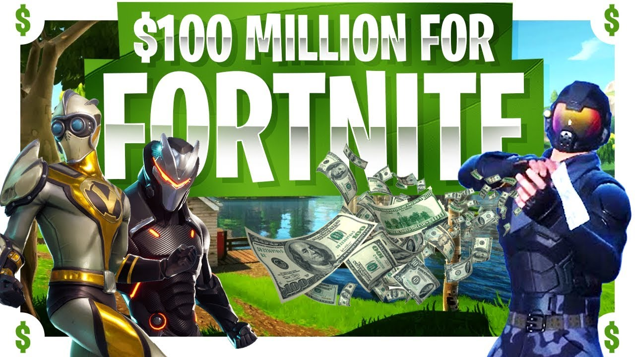Fortnite 100 Million