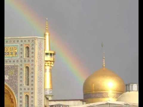 اجمل صوت أذان مشهد عند الامام علي الرضا (ع)