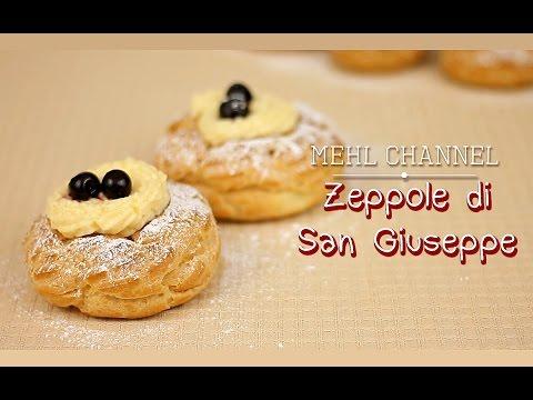 Ricetta Zeppole di San Giuseppe al Forno - Festa del Papà - Ricetta base Pasta Choux | Mehl Channel