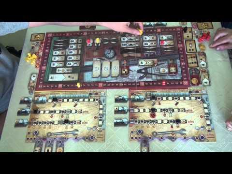 Русские железные дороги 1/1 - играем в настольную игру, Board Game