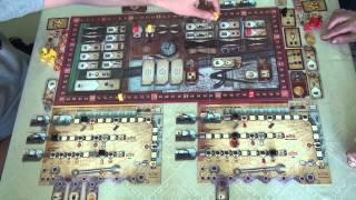 Русские железные дороги 1/1 - играем в настольную игру, board game(Игра на железнодорожную тематику с механикой выставления работников и индивидуальными полями игроков...., 2014-09-16T03:01:28.000Z)