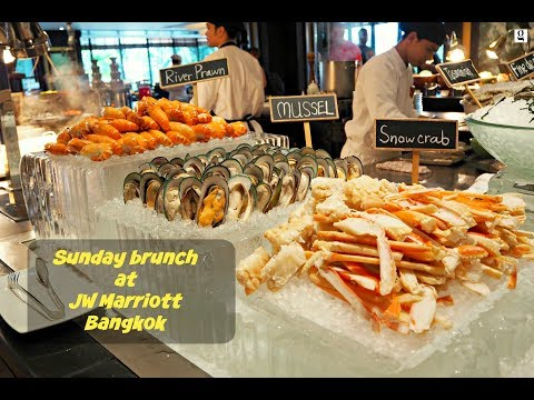 Sunday brunch at JW Marriott Bangkok