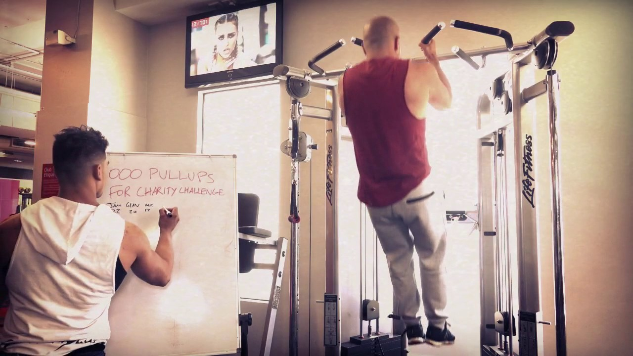 1000 Pullups for Charity Challenge