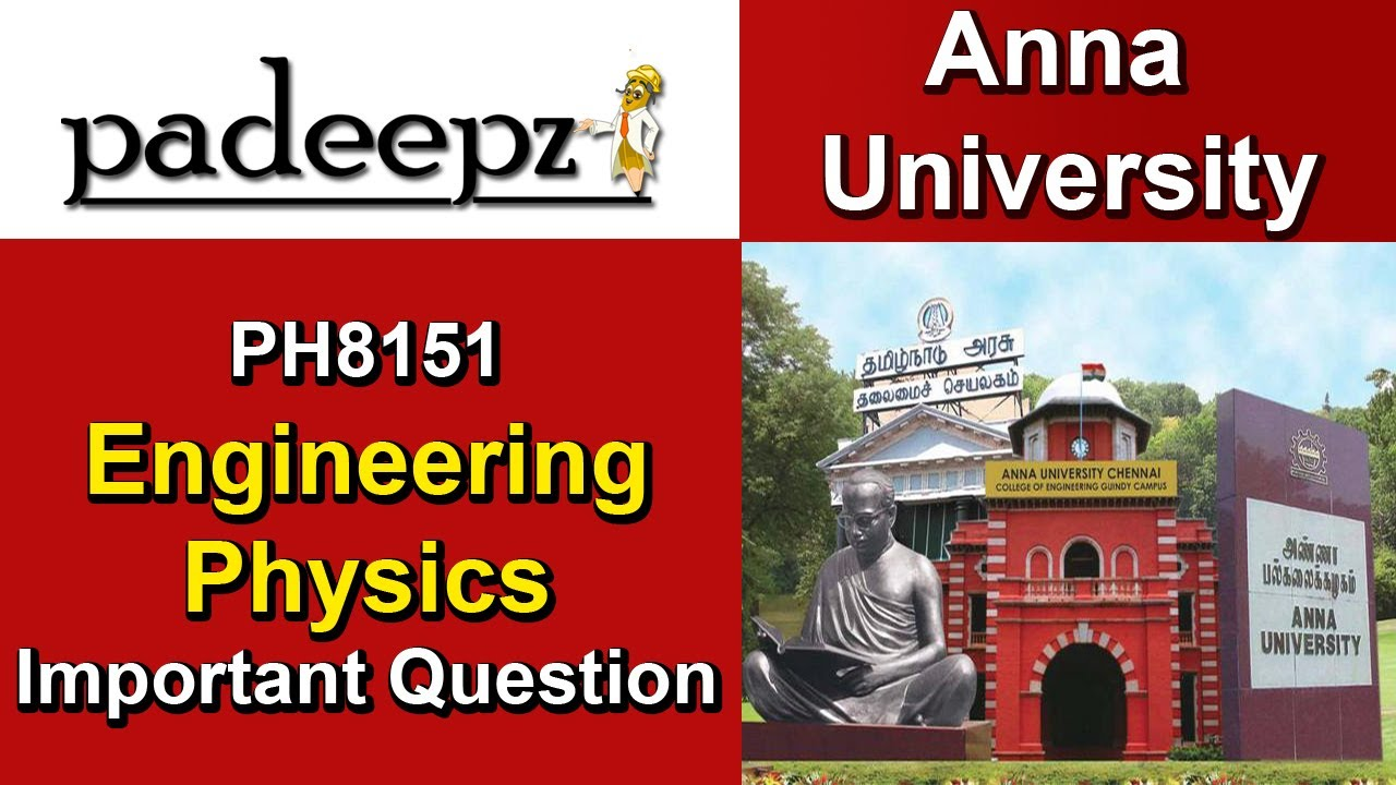 PH8151 Notes Engineering Physics Regulation 2017 Anna University