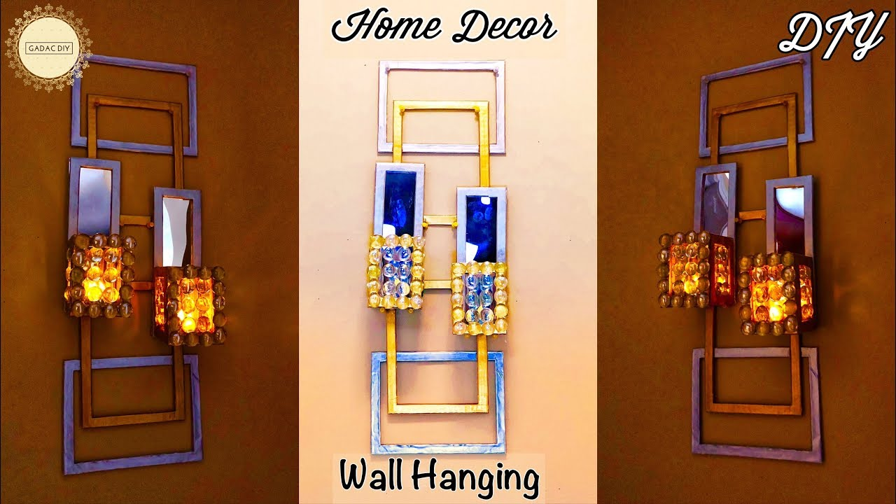 Diy Unique Wall Hanging Wall Hanging Craft Ideas Simple