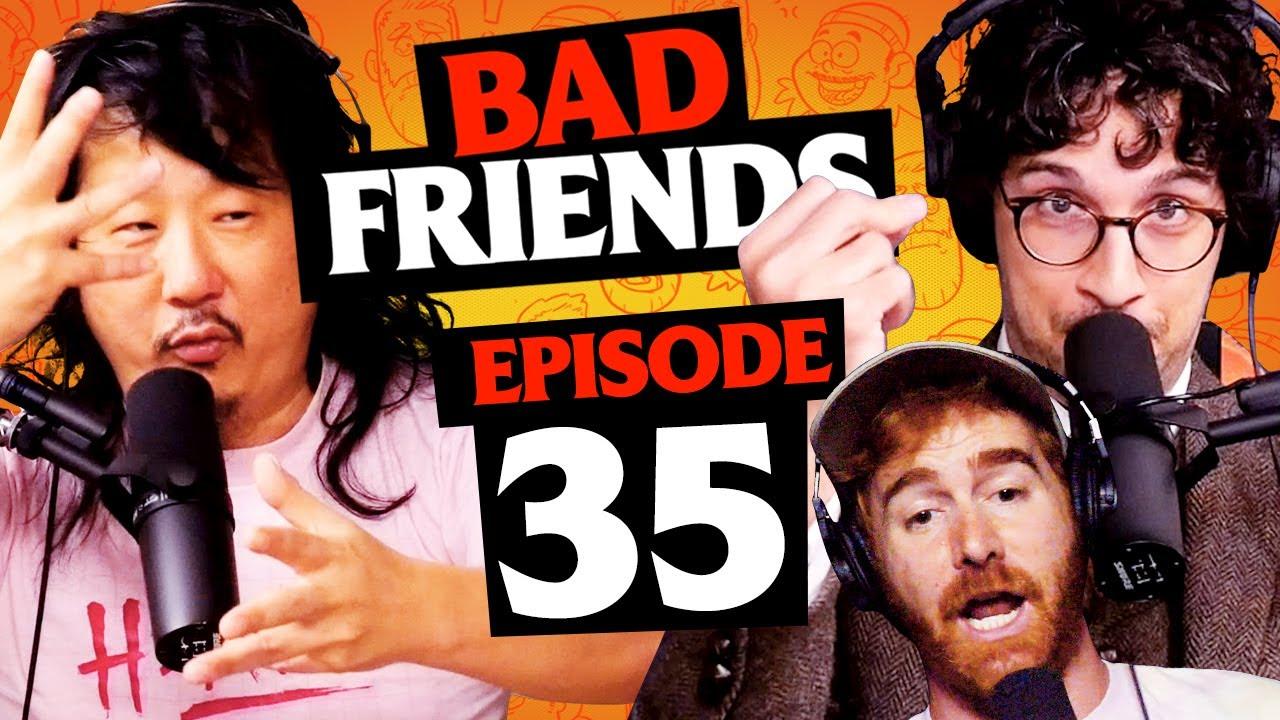 Pumpkins, Andy's Pandy, and Bobocopia ft. Rick Glassman | Ep 35 | Bad Friends
