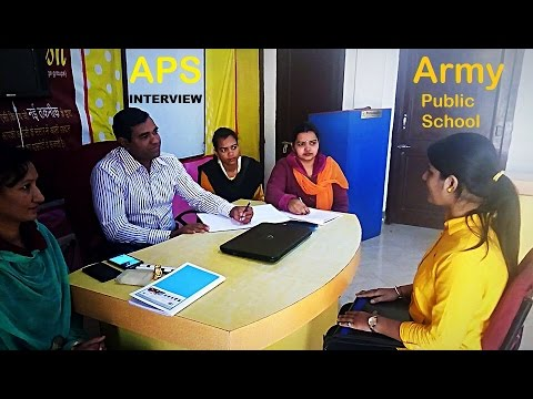 army public school interview