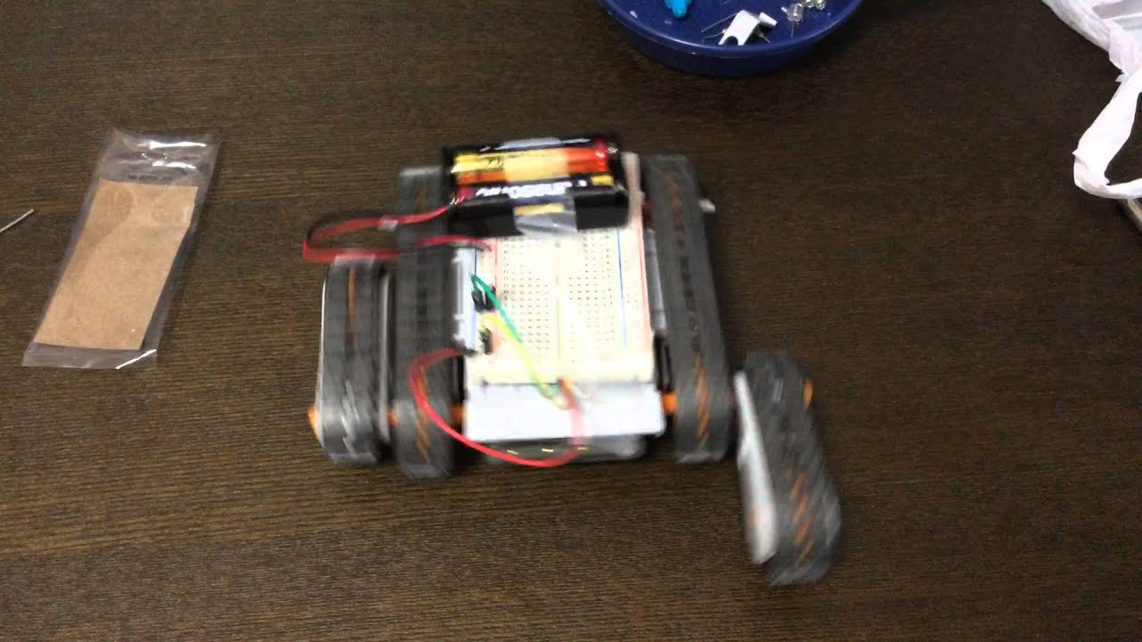 11:タミヤ『アームクローラー』⑥ 無線リモコン化: 娘とロボットつくる