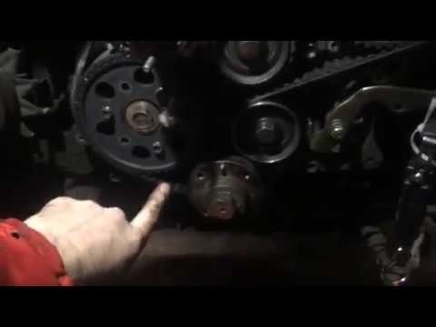 Isuzu Trooper 3.1 timing belt replacement