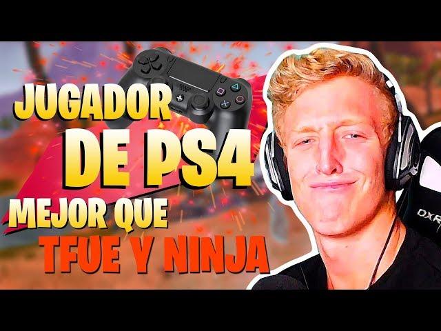 EL jugador de PS4 que GANÓ a LOS MEJORES JUGADORES DEL MUNDO FORTNITE Battle Royale
