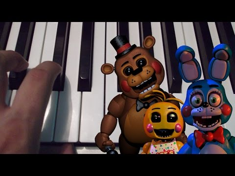 It's Been So Long / Five Nights At Freddy's 2 / Piano Tutorial / Cover / Notas Musicales