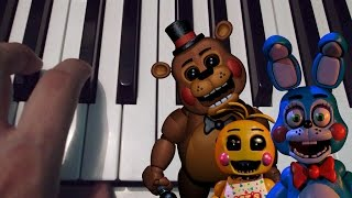 It s Been So Long Five Nights At Freddy s 2 Piano Tutorial Cover Notas Musicales