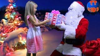 Новогодняя Песенка для детей от Ярославы | We Wish You A Merry Christmas & Happy New Year Tiki Taki