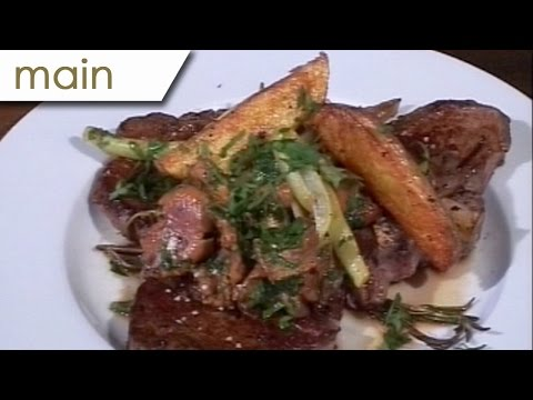 T-Bone Steak with chanterelles - Silent Cooking with Patrick Müller (with recipe)