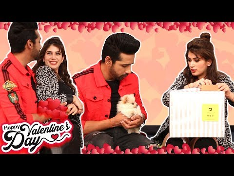 Puneesh Sharma BEST Gift Ever To Bandgi Kalra For Valentines Day